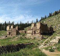 Les ruines de Manchir Chiid