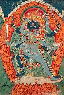 Bhairava et sa consort