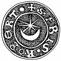 Sceau templier du frère Robert de la terre de Retz