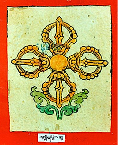 Tsakli, carte rituelle tibétaine