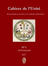 René Guénon - Cahiers de l'Unité N° 6