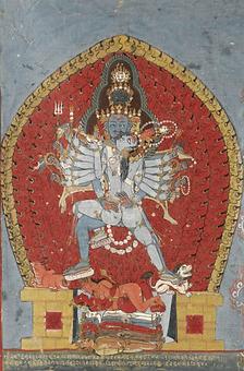 Svacchandabhairava et sa parèdre