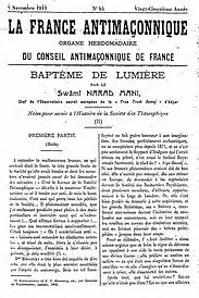 La France Antimaçonnique