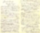 Lettre d'Aguéli à Henry Huot,  décembre 1899