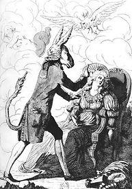 Caricature du Magnétisme animal