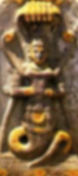 Sheshnâga, aux cinq et sept têtes de cobra