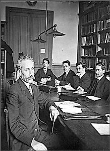 Séminaire de Sylvain Lévi à l'École pratique des hautes études