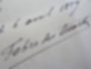 Signature de Fabre des Essarts