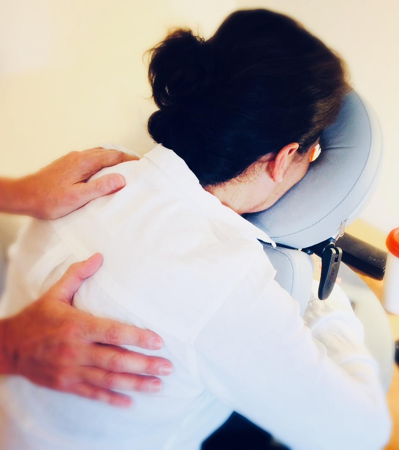 Employee Wellbeing Massage