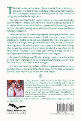Courage for the Soul of a Caregiver - Back