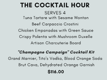 The Cocktail Hour Presented by Peacock's Pantry