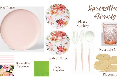 Springtime Florals Party Pod