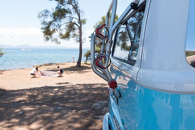 Volkswagen Camper Bulli en Aucanada, Mallorca