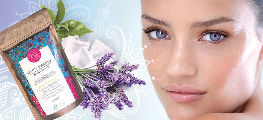 Passport To Wellness Beauty Warrior Skin Radiance Tea