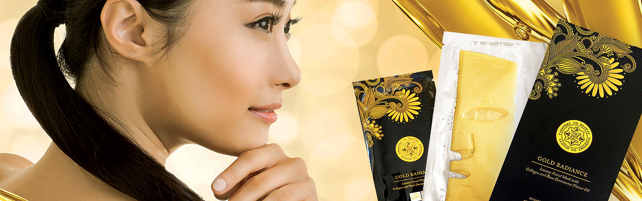 Passport To Beauty Gold Radiance Luxury Face Mask