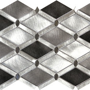 Diamond Mosaic Silver Blend