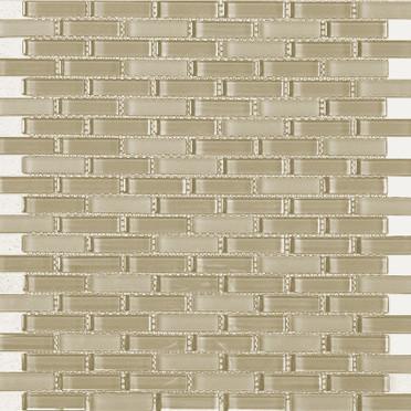 Beige Blend Bricked Mosaic