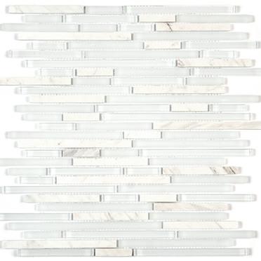 White Marble/White Glossy & Matte Blend