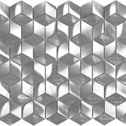 Diamond Cube Silver
