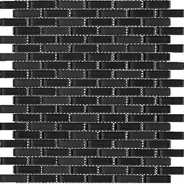 Black Blend Bricked Mosaic