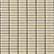 Ivory Glossy Stacked Mosaic