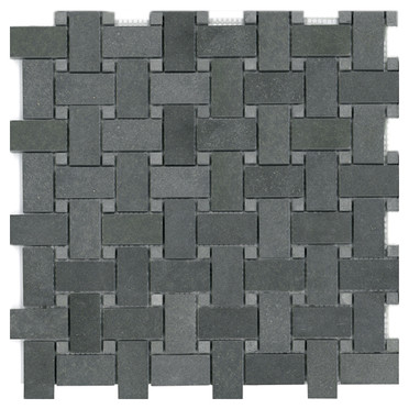 Basalt Basketweave W/ Dots