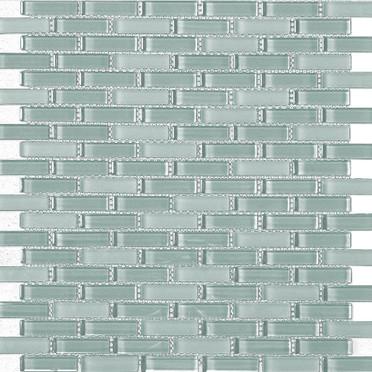 Aqua Blend Bricked Mosaic