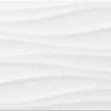 Blanco Brillo Wave Decor