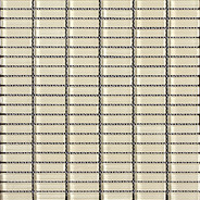 Beige Glossy Stacked Mosaic