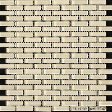 Ivory Blend Bricked Mosaic