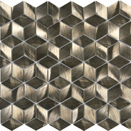 Diamond Cube Bronze