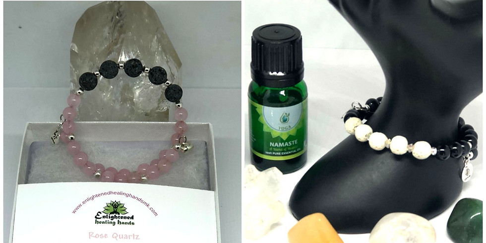 Create Your Essential Oil Diffuser Bracelet & Shamanic Sound Healing Journey!