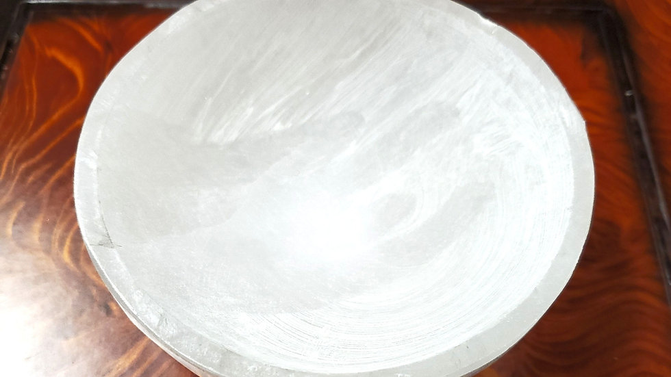 Selenite Bowl 4 inches