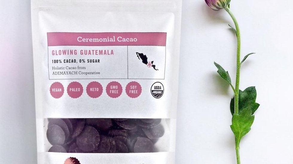 Glowing Guatamala 100% Ceremonial Cacao