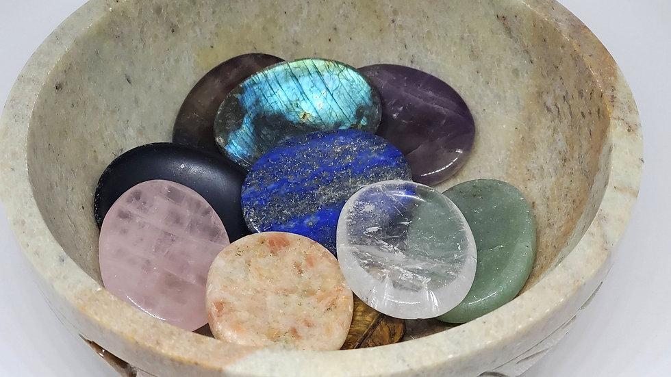 Assorted Thumb Stones *Worry Stones*