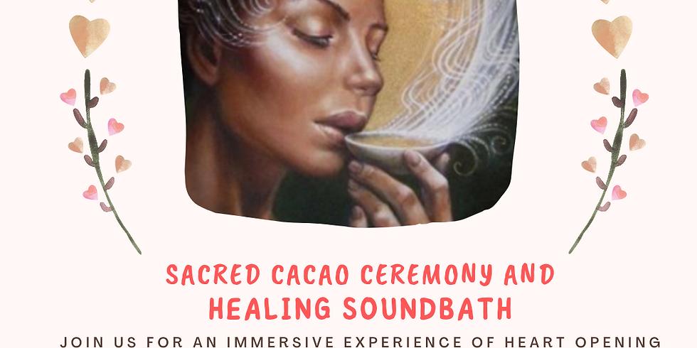 Sacred Cacao and Soundbath Healing Ceremony