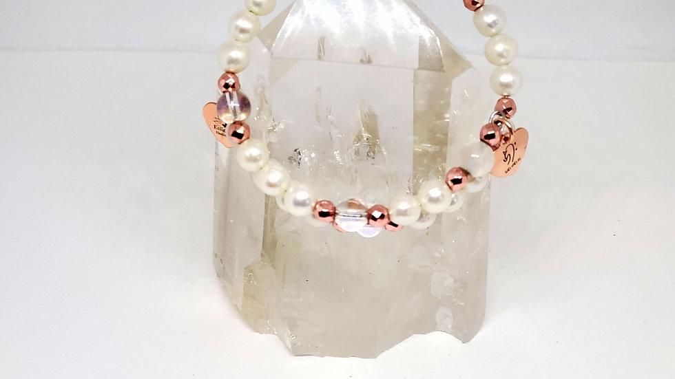 Angelic Light* Pearl Bracelet