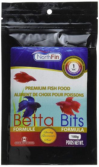 NorthFin Betta Bits 1mm 100g