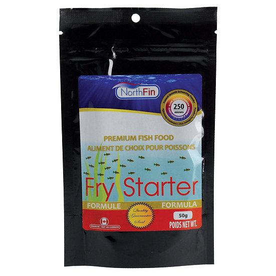NorthFin Fry Starter Formula - 250 Microns Slow Sinking Powder - 50g