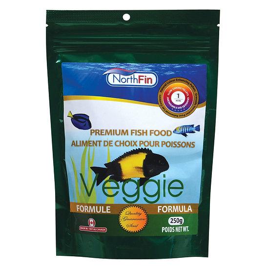 NorthFin Veggie Formula - 1 mm Sinking Pellets - 250g
