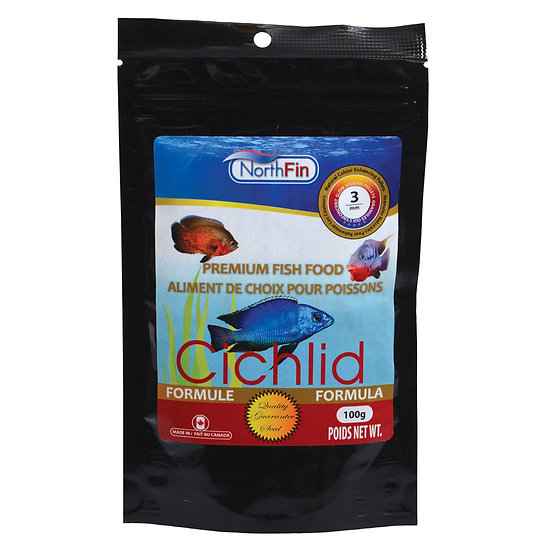 NorthFin Cichlid Formula - 3 mm Sinking Pellets - 100g