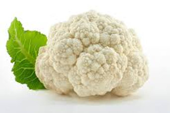 Cauliflower per head