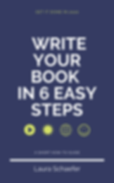How to write your book in 6 easy steps (