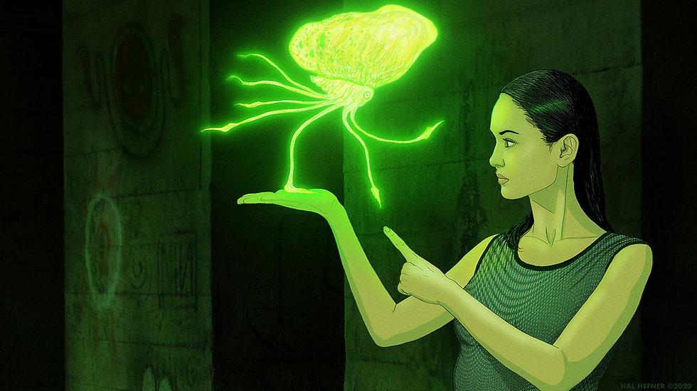 Eva holding chloropod-hal hefner.jpg