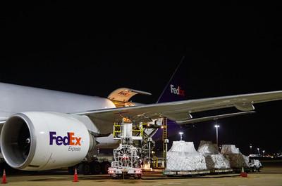 Generously Donated FedEx Cargo Flight