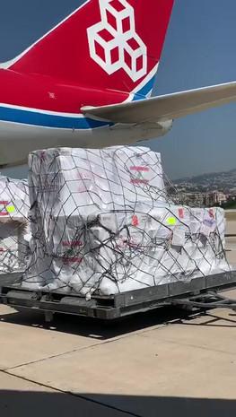 CargoLux Touchdown in Beirut