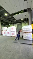 Lebanese Unloading Plane and Loading Tru