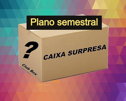 Clube Diva Box - Plano Semestral