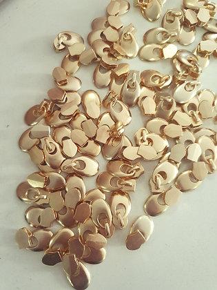 Cursor redondinho dourado  6 unidades