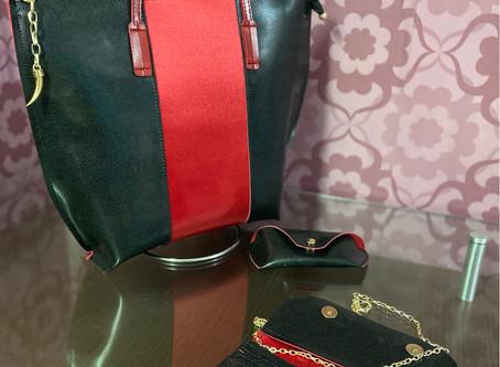 Bolsa carteira e porta óculos Alice